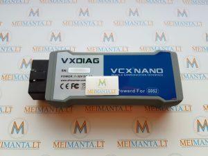 Opel, Saab, Chevrolet (GM grupė) VXDIAG VCX NANO