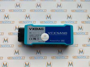 Opel, Saab, Chevrolet (GM grupė) VXDIAG VCX NANO (USB, Wi-Fi)