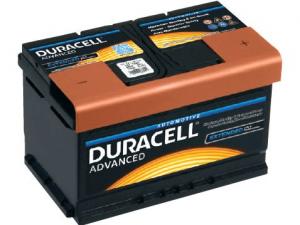 Akumuliatorius Duracell Advanced 12V/72Ah/660A
