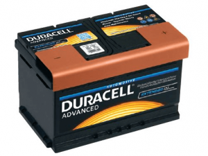 Akumuliatorius Duracell Advanced 12V/74Ah/680A