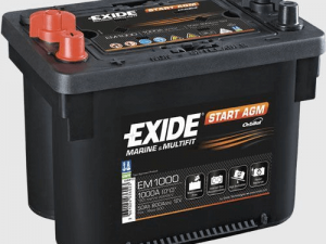 Akumuliatorius EXIDE ORBITAL 12V/50Ah/800A