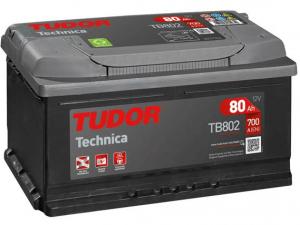 Akumuliatorius Tudor Technica 12V/80Ah/700A