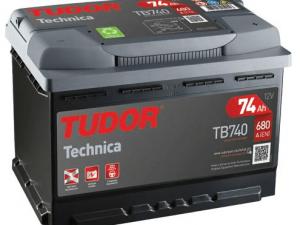 Akumuliatorius Tudor Technica 12V/74Ah/680A